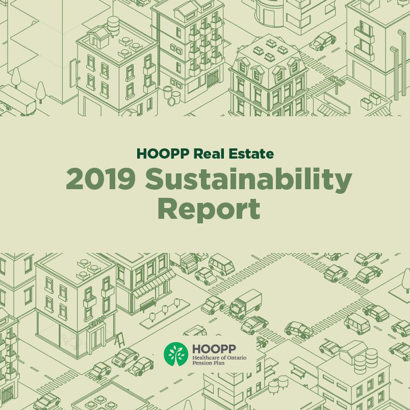 2019 HOOPP Real Estate Sustainability Report