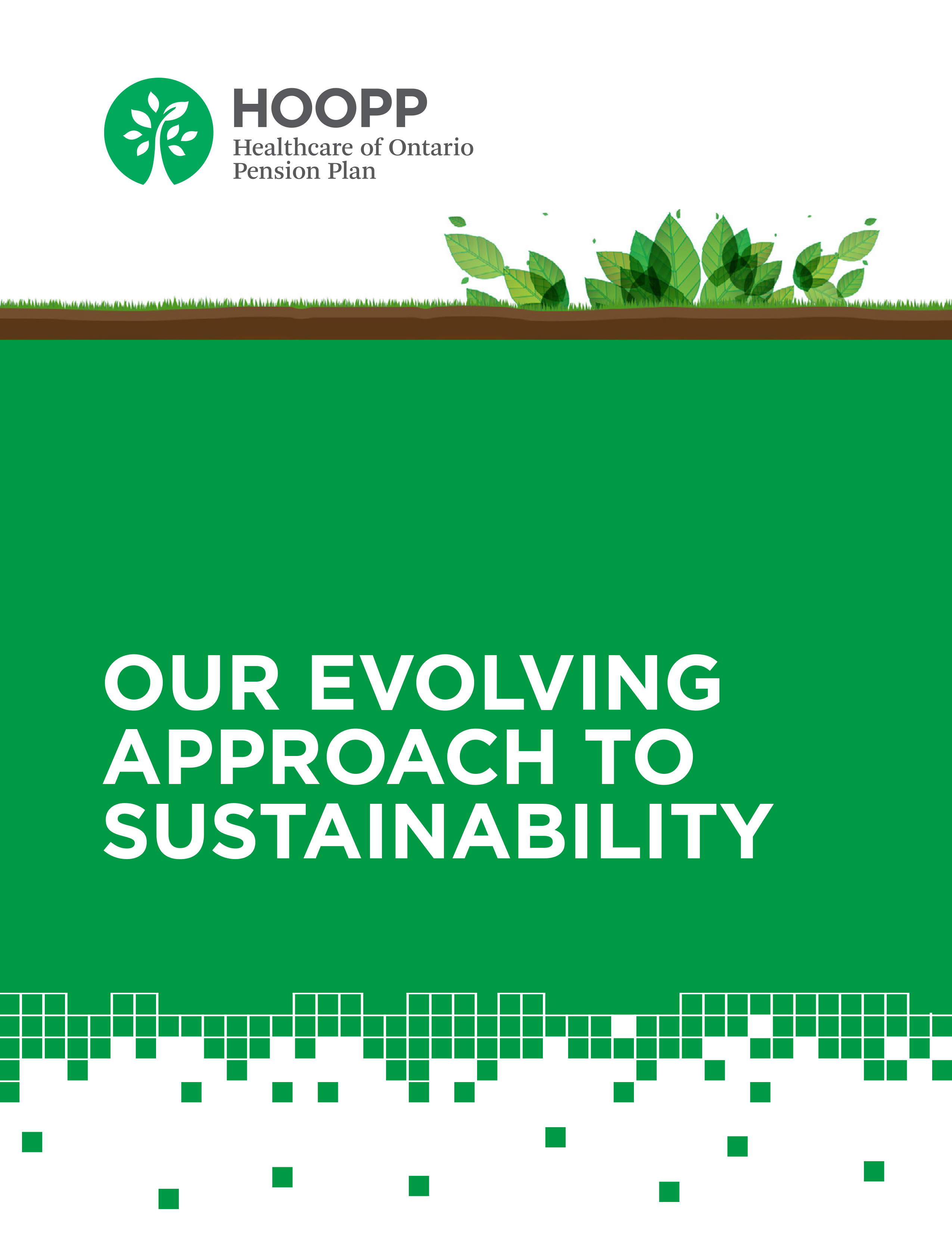2016 Real Estate Sustainability Report