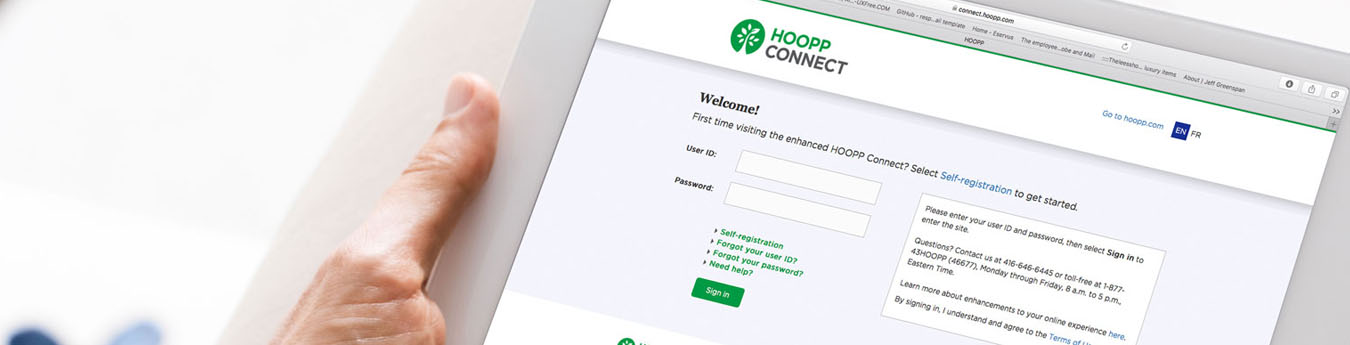 Have you tried the enhanced HOOPP Connect?